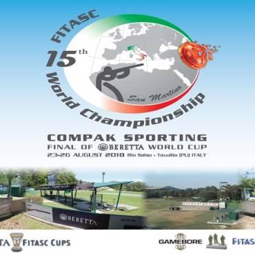 15 – asis Compak Sporting Pasaulio Čempionatas