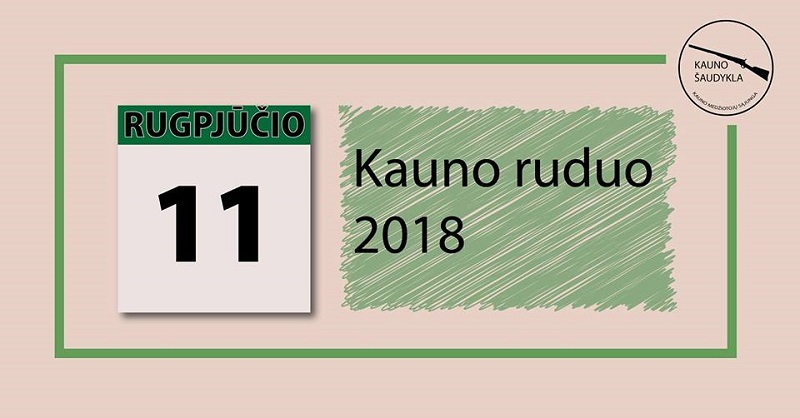 Kauno ruduo 2018 jau šį savaitgalį!!!