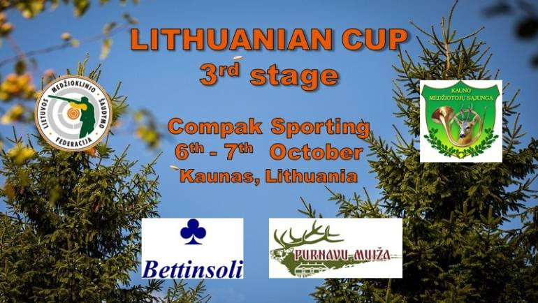 Lithuanian Compak Sporting Cup III – rd Stage
