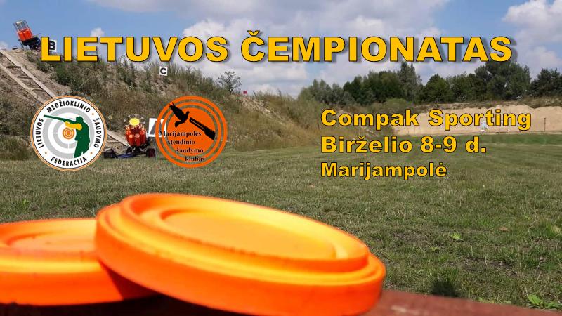 Atidaryta registracija į Lietuvos Compak Sporting čempionatą Marijampolėje