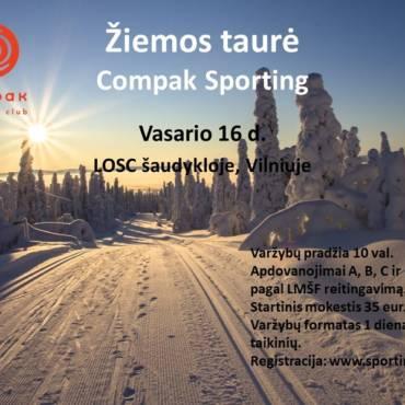 Prasidėjo registracija į Žiemos Taurės varžybas Vilniuje
