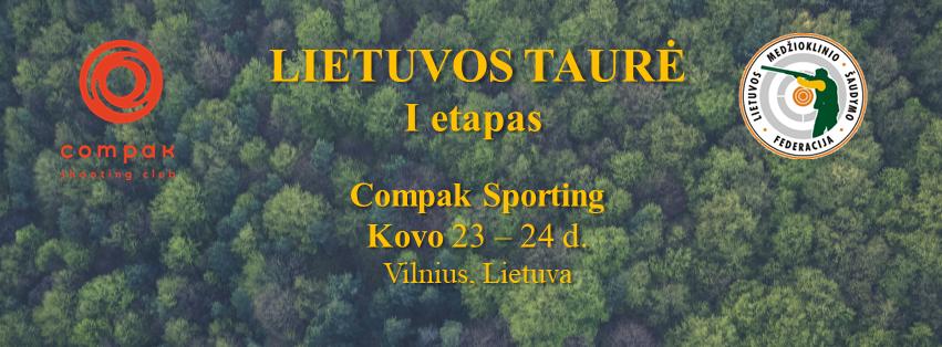 Kviečiame į Lietuvos Compak Sporting taurės I-ąjį etapą.