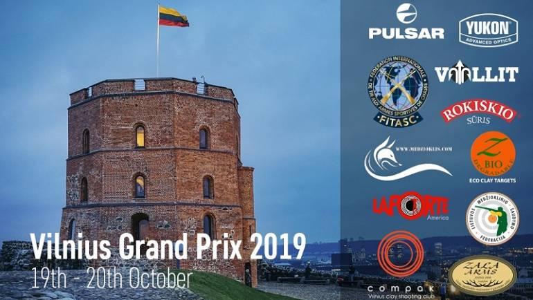 Kviečiame į Vilnius Grand Prix 2019 varžybas