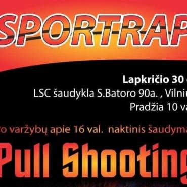 Sportrap- įdomi šaudymo disciplina.