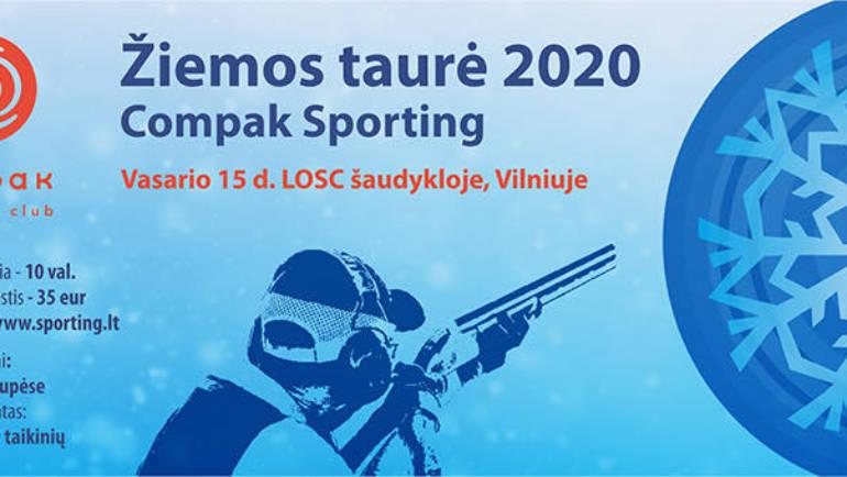 """Kviečiame į ,,Žiemos taurė 2020"""" varžybas"""