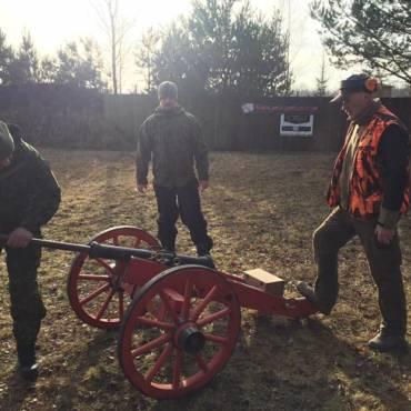Medžiotojų lygos pradžią paskelbė patrankos šūvis