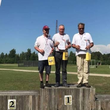Iš varžybų Latvijoje su aukso medaliu!