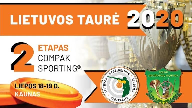 Kviečiame registruotis į Lietuvos taurės II – ojo etapo varžybas