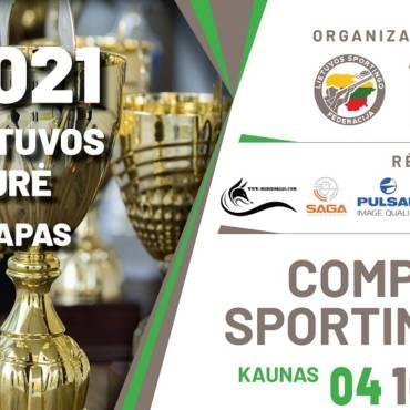 Informacija Lietuvos taurės varžybų dalyviams