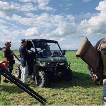 Mūsų šauliai išbandė naują šaudyklą Latvijoje