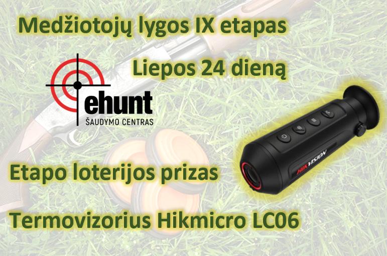 Kviečiame į medžiotojų lygos IX etapą Ehunt.lt šaudymo centre