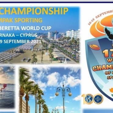 Kipre prasidėjo 17 – tas Pasaulio compak sportingo čempionatas