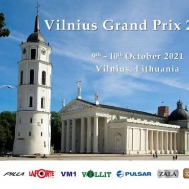 Kviečiame į Vilnius Grand Prix 2021