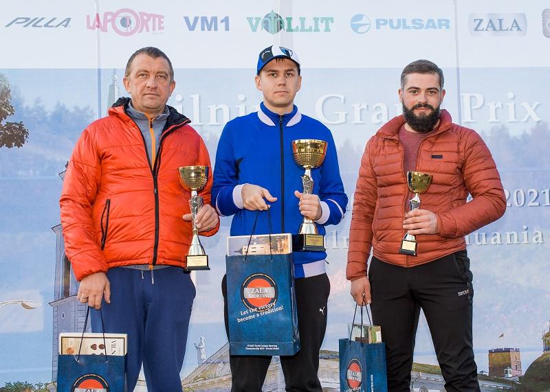 Vilnius Grand Prix 2021 nugalėtoju tapo Estas