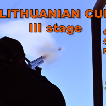 Lithuanian Cup III stage