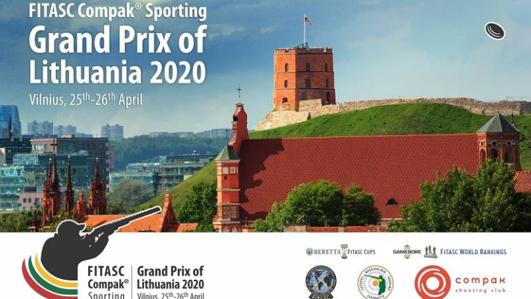 Registracija į Grand Prix of Lithuania 2020 jau atidaryta